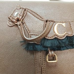 Equestrian Horse saddle handbag / crossbody